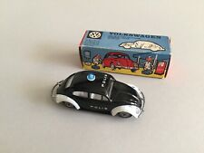 MINT Tekno 1960's Volkswagen Beetle Police Car 819 Blue Light VERY RARE!