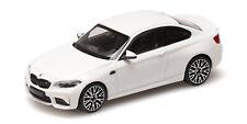 Bmw M2 Competition White 2019 MINICHAMPS 1:43 410026200 Model