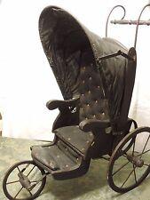 Antique 3-wheel Joel Ellis doll buggy/carriage