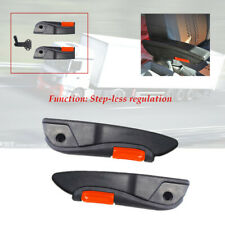 2PCS Truck Adjustable 0-120 ° Left Right Armrests Seat Arm Console Clamp Install