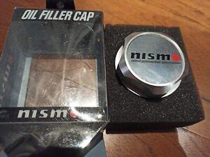 JDM CHROME NISMO OIL FILLER CAP NISSAN SKYLINE 350Z 370Z MICRA QASHQAI GTR R34 S