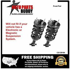 2 New GM SUV Front Complete Struts Assembly Avalanche Tahoe Suburban 1500 Yukon