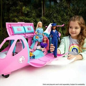 NEW Barbie GDG76 Dreamplane Plane Playset with Accessories Free NextDay Delivery