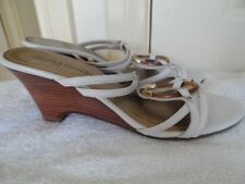 Diana Ferrari Wedge Leather Heels for Women