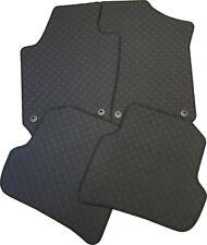 Für Dacia Duster ab 01.2018 Gummi Fußmatten schwarz 4-teilig mit Befestigungen