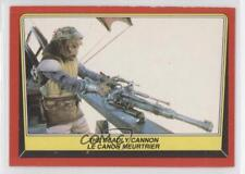 1983 O-Pee-Chee Star Wars: Return of the Jedi #50 The Deadly Cannon Card 0i7