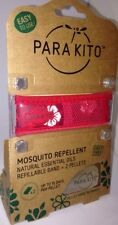 BN Para Kito Mosquito Repellent Natural Essential Oil Refillable Floral Red BAND