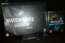 Lot Collector Watch Dogs Dedsec Edition + Vigilante Edition - 100% FR - PC  NEUF