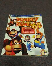 Donkey Kong 64 Official Nintendo Power Player's Strategy Gorilla Guide 1999