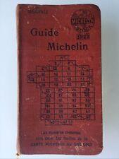 GUIDE MICHELIN  FRANCE 1922