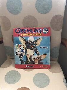 Panini Gremlins Sticker Album Complete VGC