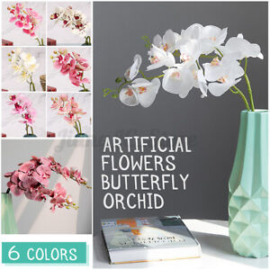 3D Artificial Butterfly Flower Home Wedding Party DIY Craft Home Decoration yy