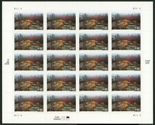 Acadia National Park Sheet of Twenty 60 Cent Airmail Stamps Scott C138