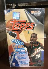 1999-00 Topps NBA Basketball Series 1 HOBBY BOX.  Pull a Jordan or Kobe RARE