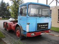 MAN ROMAN 19.215 Oldtimer H-Kennzeichen Scheunenfund Sattelzugmaschine 6X4 1985
