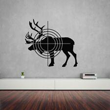 Wall Stickers Vinyl Decal Elk Hunting Target Animal ig1484