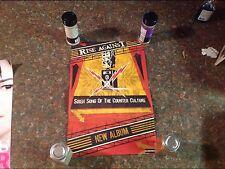 17x12apx promo Poster cd album Rise Against vintage music Rare.