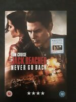 Jack Reacher - Never Go Back DVD (2017) Sold by Ebays Big Value Small Business