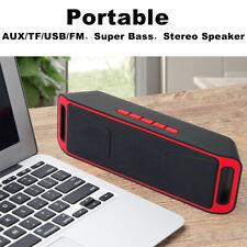Portable Cell Phone Laptop Speaker Super Bass Stereo TF/USB/AUX/FM Mini Speaker