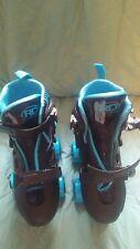 Roller Derby Size 12 -2 Quick Fit Energy Flex Boys Roller Skates Blue Black