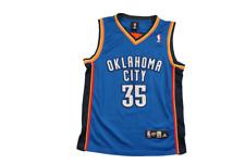 Maillot basket rétro Thunder Oklahoma City N°35 Durant NBA