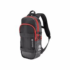 New REEBOK SPARTAN BACKPACK - Z91550 Black/Red Bag MSRP $55