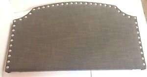 Hillsdale Furniture: Lani Panel Upholstered Headboard: TWIN -- Gray