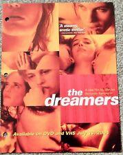 Dreamers (Video Dealer Brochure 1990S) Eva Green; Bertolucci Classic
