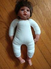 Lee Middleton Riva Baby Boy Doll 1998 #090798 brown hair eyes