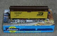 Athearn HO Scale Burlington Northern 40 Foot Wood Reefer Car Assembled Kit New