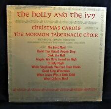 Holly and the Ivy Mormon Tabernacle Choir LP Vinyl Columbia Masterworks Records