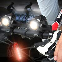 2X bicyclette vélo allume le phare avant USB rechargeable 15000LM T6 LED VTT
