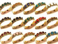 Bulk !! Wholesale Lot Tibetan Silver Brass 10PCs Turquoise Gemstone Cuff Jewelry