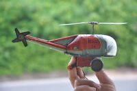 Vintage Wind Up Rescue 24 Litho Helicopter Tin Toy , Japan?