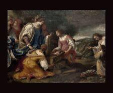 GIACOMO NEGRETTI gen. JACOPO PALMA IL GIOVANE (1544-1628)  attr. AUFFINDUNG MOSE
