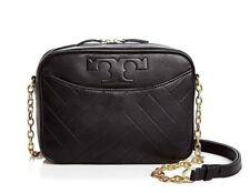 NWT TORY BURCH $498 BLACK ALEXA CAMERA SHOULDER BAG