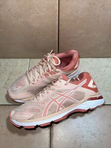 Asics Woman's GT 2000 7 Pink Coral Rose Size 8 US 1012A147