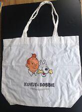 Rare ancien sac en coton Tintin Kuifje