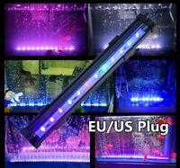 LED Air Bubble Curtain Submersible Light Bar RGB SMD for Fish Tank Aquarium UK