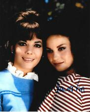 LANA WOOD AUTOGRAPHED 8X10 PHOTO WITH SISTER NATALIE WOOD SIGNED