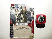 Star Wars: Destiny Awakenings - Rare Survival Gear #034 + die