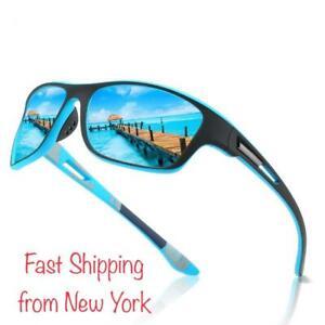 Polarized Sunglasses WrapAround Frames Driving Biking Fishing 100% UV Protection