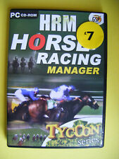 Horse Racing Manager PC CD ROM game
