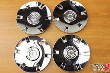 2004 Chrysler Pacifica Set Of 4 Chrome Wheel Center Caps Mopar OEM