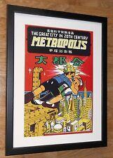 Osamu Tezuka wall art -12''x16'', Metropolis by Osamu Tezuka