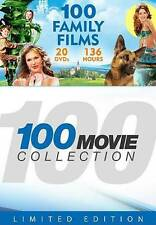 100 Movie Collection: 100 Family Films (DVD, 2014, 20-Disc Set) - NEW!!