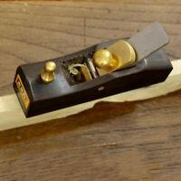 80mm Mini Plane Bottom Edged DIY Woodworking Wood Hand Planer Tool #4