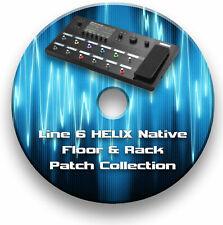 7000+ PATCHES - LINE 6 HELIX NATIVE FLOOR & RACK SETTINGS CUSTOM TONES ON CD