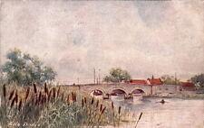 PARSONS NORMAN :The Bullrush-Acle Bridge-JARROLDS 'Wild Flower'