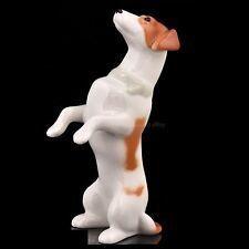 Russian Imperial Lomonosov porcelain Figurine Dog Jack Russell Terrier Mickey